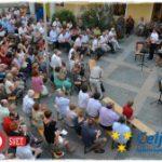 Andrej Gubenšek, Muzikoterapija in Tilen Draksler navdušili v atriju Doma sv. Jožefa (foto in video)