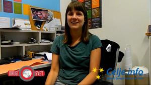 Sonja Majcen, koordinatorka EVS prostovoljcev v Mladinskem centru Celje