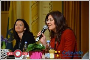 drzavljanski forum z evropskima poslankama 1