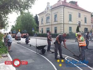 Prenova ceste skozi Žalec je končana