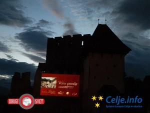 Na Starem gradu Celje je potekal Večer poezije s podelitvijo Veronikine nagrade in Zlatnika poezije.