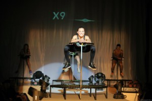 x9 jUMPING  fitness center, v Selmar centru