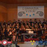 Božično-novoletni koncert 1. gimnazije v Celju (foto,video)