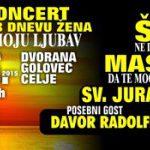 Vabimo na gala koncert ob dnevu žena: klape Šufit, Maslina, Sv. Juraj-Hrm v celjskem Golovcu