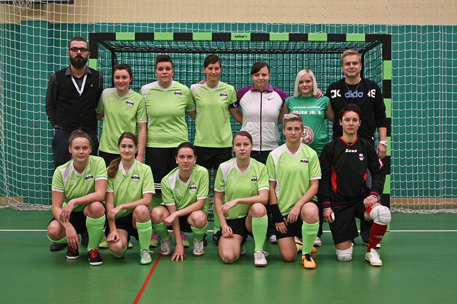 Ekipa ŽNK Celje v sezoni 2015/2016. (Vir: ŽNK Celje, Kaja Košar)