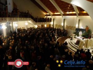 Preverili smo, v kakšnem razmerju pristopajo k svetim zakramentom Celjani v primerjavi z ostalimi Slovenci.