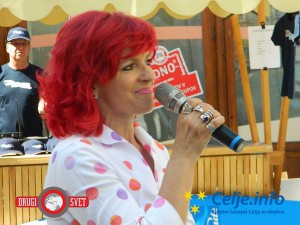Marijana Kolenko je predstavila celjske humanitarne klube.