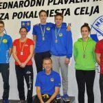 31. mednarodni plavalni miting za pokal Celja: neptunovci s 50 medaljami