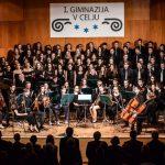 Z dobrodelnega božično-novoletnega koncerta I. gimnazije v Celju (foto in video)