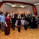 Ruski večer ljubezni na I. gimnaziji v Celju (foto in video)