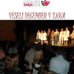 Vabljeni na veseli december 2016 v gledališče Zarja Celje – brezplačne vstopnice
