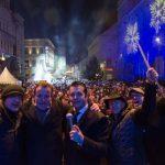 Množično silvestrovanje v Celju z Rok'n'bandom 2016 (foto, video)