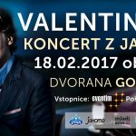 Vabimo na Valentinov koncert z Janom Plestenjakom v Celje