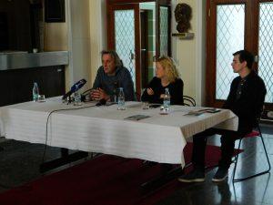 Matjaž Zupančič, Tina Kosi in Gregor Potokar.