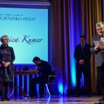 Celje: slovenski kulturni praznik obeležili s podelitvijo priznanj Celjske zvezde (foto, video)