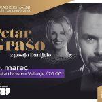 Vabimo na tradicionalni koncert ob dnevu žena s Petrom Grašem in gostjo Danijelo v Velenje – vstopnice pol ceneje