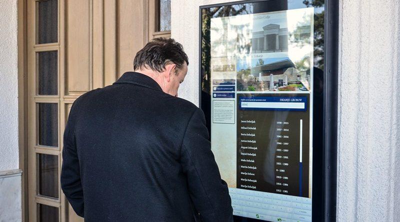 Nov sistem je preizkusil tudi župan MOC Bojan Šrot.