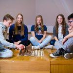 Kajuhovke državne prvakinje v šahu