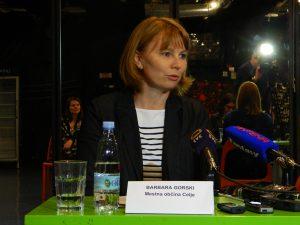 Barbara Gorski je izrazila zadovoljstvo ob sodelovanju Mestne občine Celje s Celjskim mladinskim centrom pri Festivalu prostovoljstva.