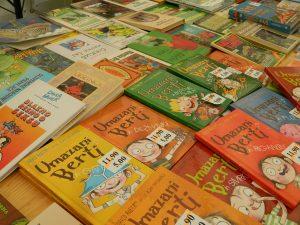 Za nami so slovenski dnevi knjige.