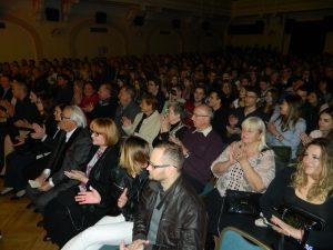 Koncertna atmosfera je brez dvoma prežela tudi obiskovalce.