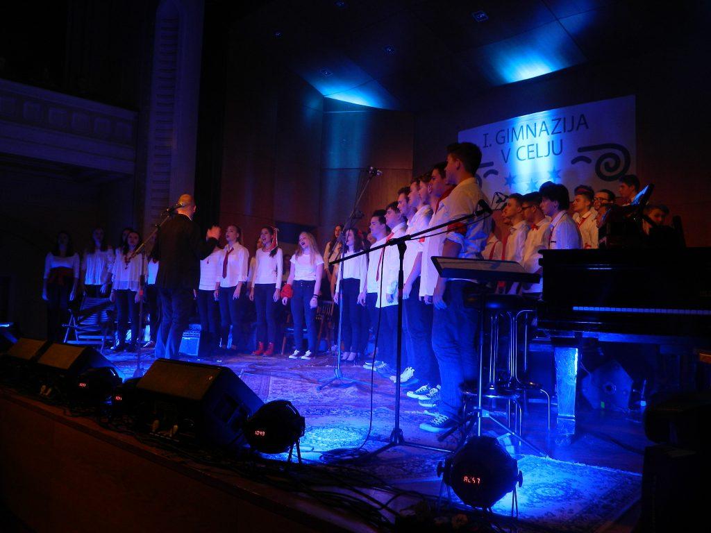 Mešani mladinski pevski zbor I. gimnazije v Celju