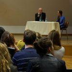 Dr. Milan Brglez obiskal I. gimnazijo v Celju (foto, video)