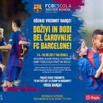 Na Rogli bodo gostili kamp Barcelone za dečke in deklice od 7 do 15 let