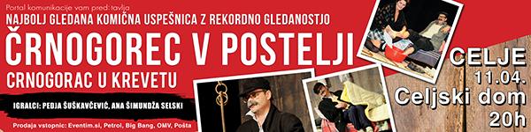 Vabimo na komedijo Črnogorec v postelji - Celje.info d4649b991e1