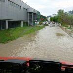 Visoke vode znova po ulicah Laškega