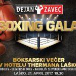 Vabimo na boksarski večer v hotelu Thermana Laško: Dejan Zavec boxing gala