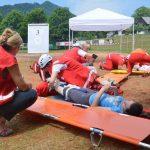 To so najboljše ekipe regijskega preverjanja ekip prve pomoči in Civilne zaščite in Rdečega križa