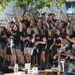 Fusion rock zbor za mlade na mestni plaži v Celju (video)