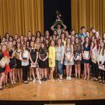 GCC s petimi zlatimi maturantkami in skoraj popolnim izkupičkom na maturi