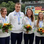 Martin Srabotnik srebrn z EP v Nemčiji, Tominc ob medaljo po ogledu videa