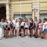 Celje so obiskali mladi Rusi