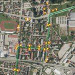 Zaradi ultramaratona v soboto zaprto širše središče Celja