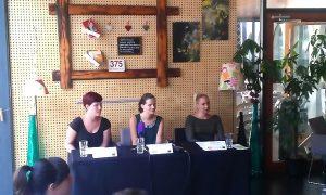 Katja Romih, Sonja Majcen in Katja Presekar so nam povedale več o septembrskem dogajanju v Celjskem mladinskem centru.