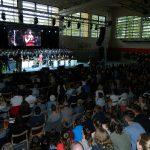 I. gimnazija v Celju slovesno odprla novo telovadnico Kajuh (foto, video)