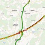Zaradi prometne nesreče na avtocesti med Dramljami in Celjem zastoji (dopolnjeno)
