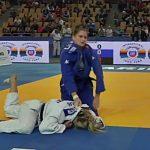 Klara Apotekar evropska mladinska prvakinja v judu