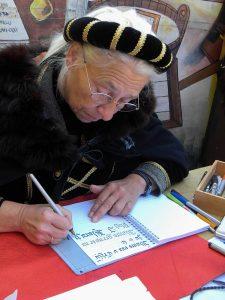 Kaligrafska pisava zahteva posebno pero.