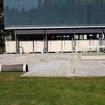 Sanacija terase pred Osrednjo knjižnico Celje bo trajala dva meseca – igrišče bo mogoče tudi ostalo