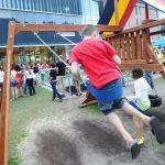 Saga o otroškem igrišču pred knjižnico se nadaljuje: nova izjava za javnost OKC