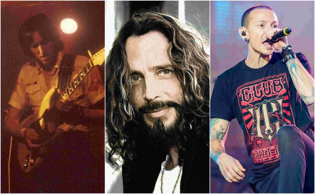 Allan Holdsworth, Chris Cornell in Chester Bennington