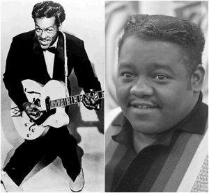 Chuck Berry in Fats Domino