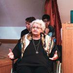 Dr. Svetlana Slapšak predavala dijakom I. gimnaziji v Celju