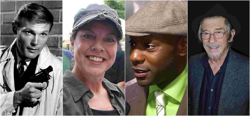 Adam West, Erin Moran, Nelsan Ellis in John Hurt