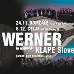 Vabimo na koncert Wernerja in najboljših klap Slovenije v Celje