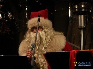 Celjski dixieland je na oder privabil tudi Božička.